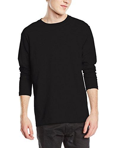Stedman Apparel Herren T-Shirt Comfort-t Long Sleeve/st2130 Schwarz - Black Opal