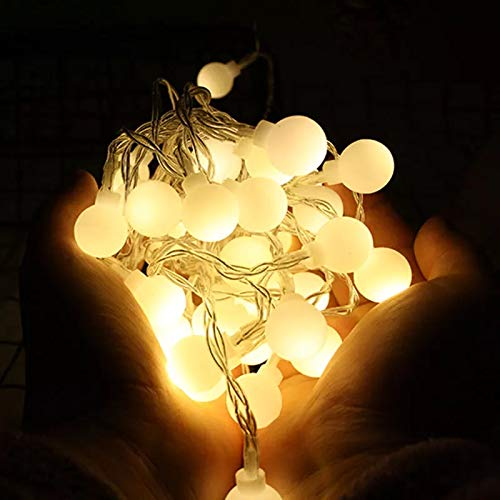 Satyam Kraft 20 Bulb String LED Fairy Lights for Home and Outdoor (3 m, Warm White)