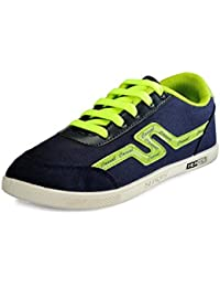 Yepme Men's Green Canvas Casual Shoes