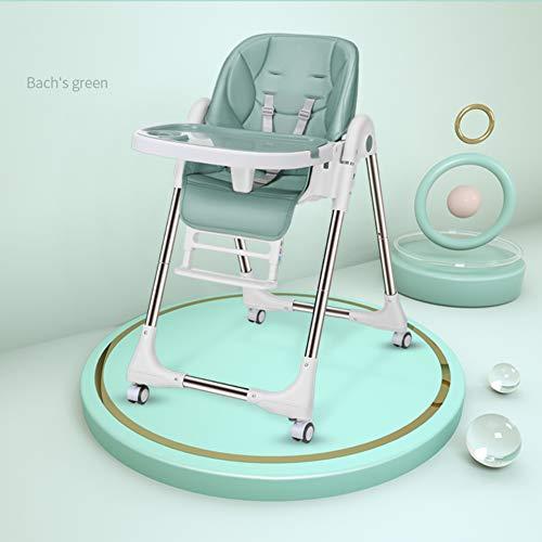 VIVOCC SOFA Baby Dining Chair Falten sie einen hochstuhl Snacker hochstuhl Pu ledersitz Kinder Tisch...