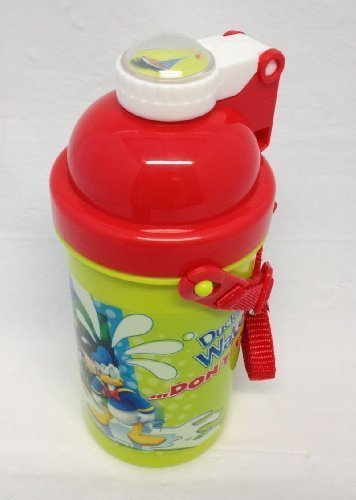 Disney Clubhouse: Mickey Mouse & Friends Pop Top Drinking Bottle 500ml with Strap