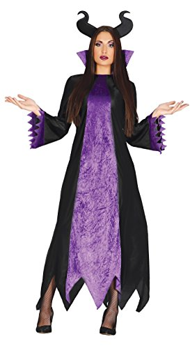Guirca-Kostüm Erwachsene Dunkle Fee, Gr. - Lila Dunkle Fee Kostüm