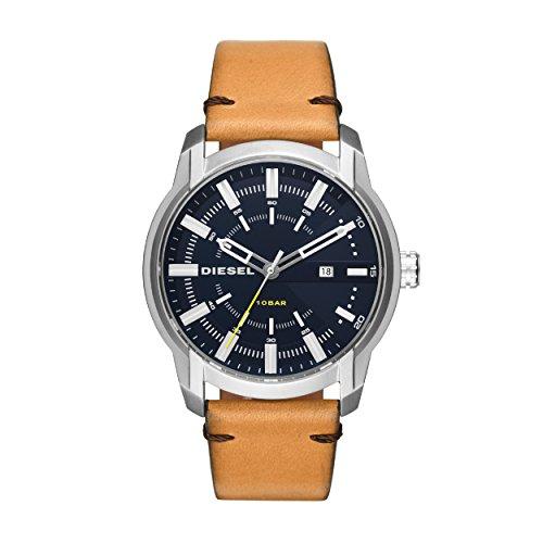 Diesel Men's Analogue Quartz Watch with Leather Strap DZ1847