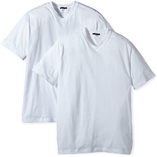 Schiesser Herren Unterhemd 2 er Pack 008151-100, Gr. 6 (L), Weiß (100-weiss)