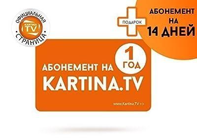 Kartina TV mit 1 Jahr Abo +14 Tage gratis!!! Premium Paket!