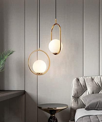 sospensione vintage LUUK LIFESTYLE lampada semplice design scandinavo oro opaco lampada industriale scrivania ideale per soggiorno sala da pranzo sospensione per lampada E27