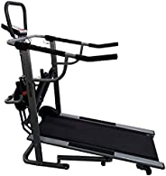 Healthex Body Gym Manual Treadmill for Home Use (4 in 1)
