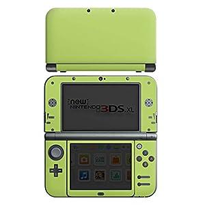 DeinDesign Skin kompatibel mit Nintendo New 3DS XL Folie Sticker grün einfarbig Farbe