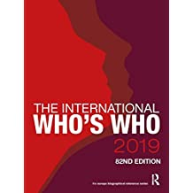 The International Who's Who 2019