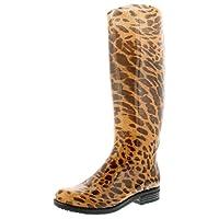 Wynsors Char Womens Wellies Leopard Print - Leopard Print - UK Sizes 3-8