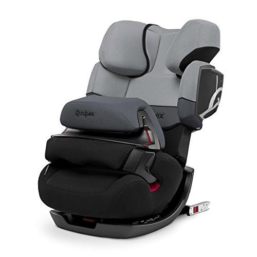 CYBEX Pallas 2-Fix, siège auto Groupe 1/2/3(9-36kg) avec Isofix et bouclier, Cobblestone