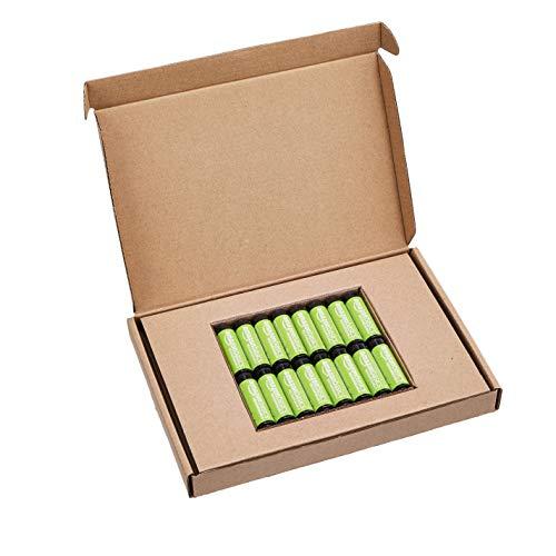 AmazonBasics Vorgeladene Ni-MH AA-Akkus – Akkubatterien, 2000 mAh, 16 Stck (Batterienfolie kann vom Produktfoto abweichen) - 4