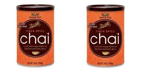 Chai Tea Tiger Spice David Rio 2 Dosen je 398 g
