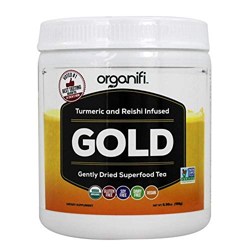Organic Superfood Powder- Organifi Gold Super Food Supplement - 30 Day Supply