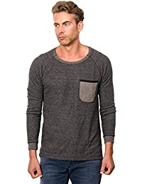 Scotch & Soda Alone Long Sleeve Tee, T-Shirt Homme