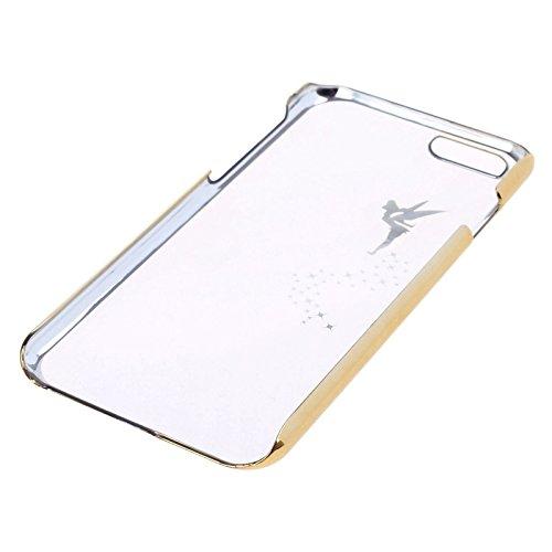 Phone case & Hülle Für iPhone 6 Plus / 6S Plus, Star Pattern Niet Stil TPU Fall ( Color : Gold ) Gold