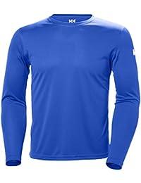 Helly Hansen HH Tech T, Camiseta para Hombre, Azul (Azul 563), XX-Large (Tamaño del Fabricante:2XL)