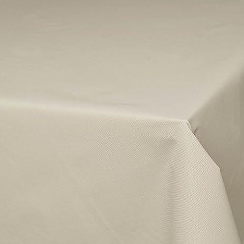 Terrazzo - abwaschbarer Tischdeckenstoff mit wasser- & schmutzabweisender Teflon-Ausrüstung - Meterware (beige)