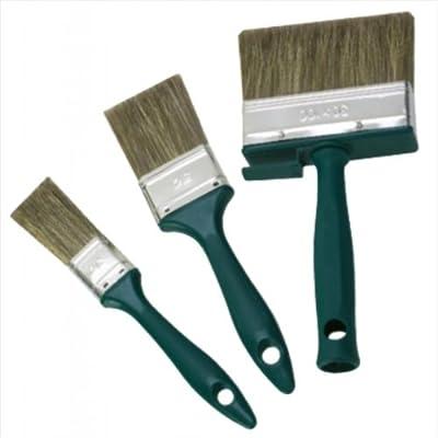 Lasur-Pinsel-Set 3-tlg. Flachpinsel 30 mm, 50 mm, Flächenstreicher 100 mm von mako auf TapetenShop