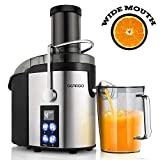 Best Juicer On The Markets - Juicer, GEARGO Juice Extractor with 75mm Wide Mouth Review