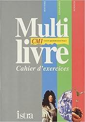 Multilivre : histoire, géographie, sciences, CM1. Cahier d'exercices
