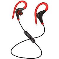 Swiftswan Écouteurs sans Fil Bluetooth Anti-Transpiration pour la Musique Sportive, Musique stéréo Universelle pour Le contrôle de Fil pour téléphone Portable