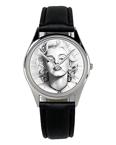 Marilyn Monroe Geschenk Fan Artikel Zubehör Fanartikel Uhr 20025-B