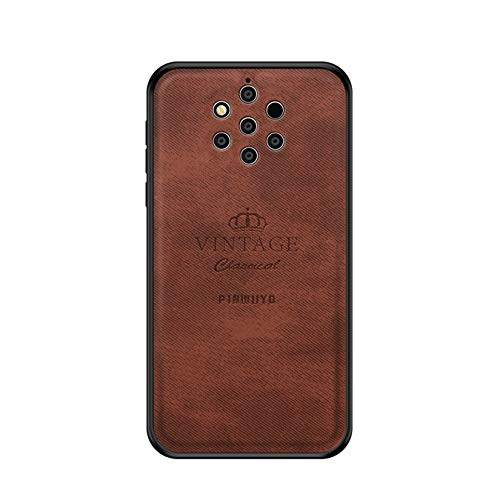 Forhouse ] Hülle Nokia 9 9 PureView Ultra Slim Fit Soft Phone Case Slim Skins Hülle Back Shell Hülle für Nokia 9 9 PureView (Brown)