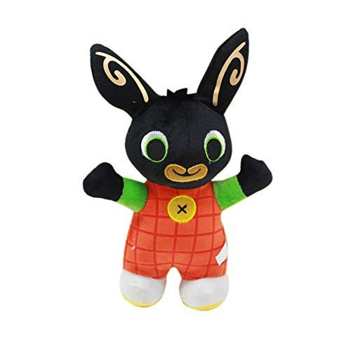 Blaward Ostern Kaninchen Plüsch niedlich Kuscheltiere Black Bunny Toy Stofftier Puppe Spielzeug Ostern Geschenk für Kinder
