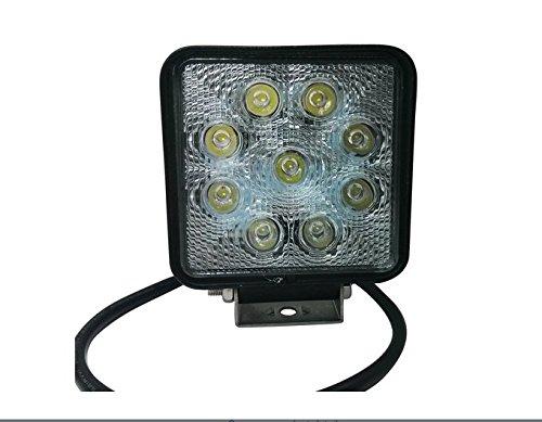SMO 27W High Power Square Off Route de travail à DEL Lampe - LED de conduite pour l'ATV
