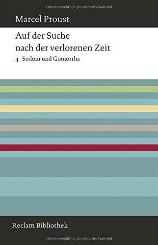 Buchseite und Rezensionen zu 'Auf der Suche nach der verlorenen Zeit: Band 4: Sodom und Gomorrha' von Marcel Proust