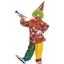Widman - Disfraz de payaso de circo para niño, talla 11 - 13 años (38588)