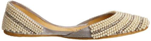 Unze L21243w, Damen Slipper Silber (Silver)