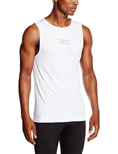 TAO Sportswear Herren Unterhemd Weiß (White)