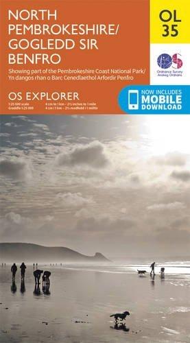 OS Explorer OL35 North Pembrokeshire (OS Explorer Map) by Ordnance Survey (2015-06-10)