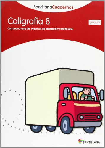 CALIGRAFIA 8 PAUTA SANTILLANA CUADERNOS - 9788468013565