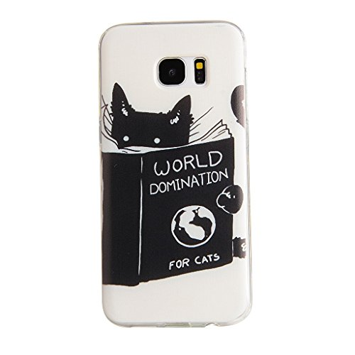 PowerQ Bunte Muster Serie Malerei Drucken Tasche TPU Hülle Etui Fall Case Cover < Sky Withered | für IPhone 6 6S IPhone6S IPhone6 >        Zeichnung weiche Silikon Abdeckung Handy-Fall Handy-Abdeckungs weich Reading Cat