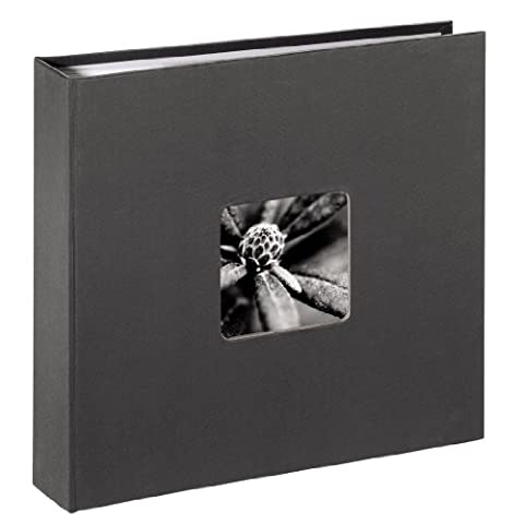 Hama Fine Art 00001704 Scrap Book / Photo Album 10 x 15 cm Maximum Photo Capacity 160 Grey