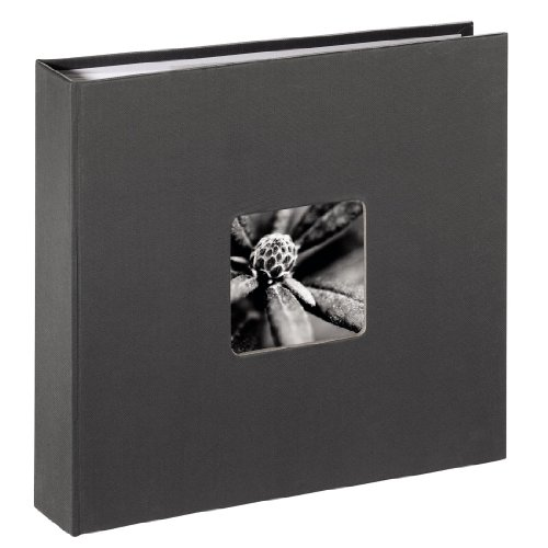 Galleria fotografica Hama Fine Art Grey photo album - photo albums (225 mm, 220 mm, Grey, 80 sheets, 100 x 150)