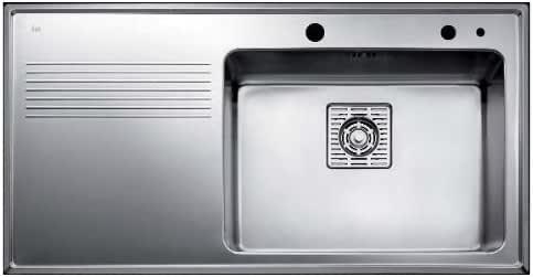 Teka Frame Brushed Steel Sink Accessories Stainless Steel