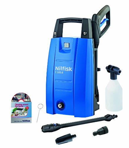 nilfisk-c105-6-5-pressure-washer-with-1400-w-motor