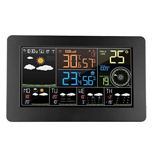 KCDE Termometro Digital Estacion Meteorologica Termómetro Habitación Termómetros Higrómetro, Estación...