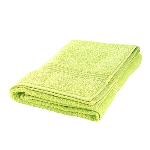 Axentia Telo da bagno di asciugamani per doccia, Spiaggia e fitness studio-Telo mare asciugamano Sauna panno in cotone Sport asciugamano grande, Plastica, Menta, 70x 140x 0.4cm