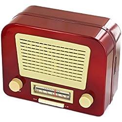 Radio Vintage FM y caja joyero
