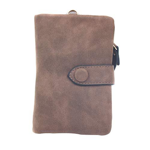 2372280ce78 lzndeal Cute Women s Tri-Fold Wallet Purse Short Design Fashion PU Leather  Card Holders