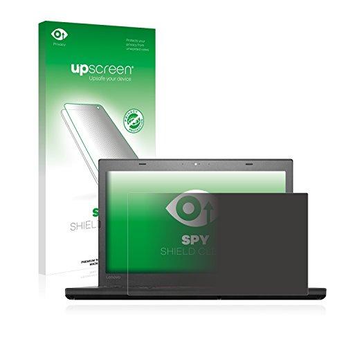 upscreen Anti-Spy Blickschutzfolie für Lenovo ThinkPad T460 UltraBook Privacy Screen Displayschutzfolie - Sichtschutz, Kratzfest