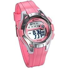 JewelryWe Relojes para Niños Niñas Digital Reloj Deportivo Para Aire Libre, Reloj Infantil De Colores
