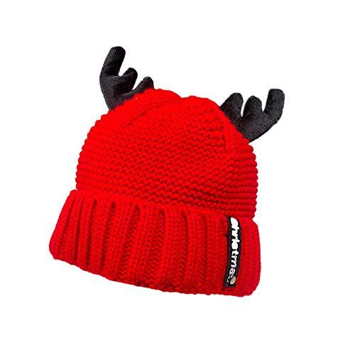 (UFODB Christmas Caps Weihnachtsmütze Erwachsene Kind Süß Elch Geweih Weihnachtsmann Claus Hüte Weihnachten Weihnachten Urlaub Party)