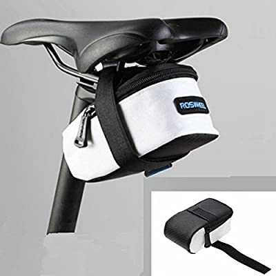 Atv Mtb Bike Mountain Road Tail Bag Pouch Seat Saddle Bag by QODZM