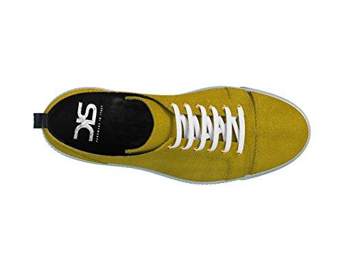 DIS - Pietro - Sneakers Basses - Unisexe Jaune